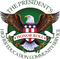President's National Honor Roll for Community Service with Distinction | Corporation for National and Community Service (2013)