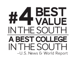 #4 Best Value in the South | A Best College in the South | U.S. News & World Report