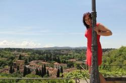 Şazıye Gourley-Özhayta in Italy