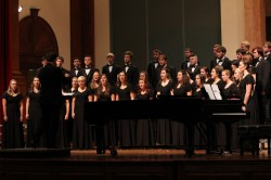 "Concert Choir Home Tour Concert: ""On The Journey"" @ Mary B. Martin Auditorium, Seeger Chapel"