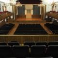 Mary B. Martin Auditorium inside Seeger Memorial Chapel
