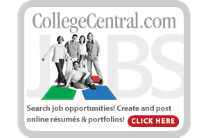 Search for Jobs with<br>College Central