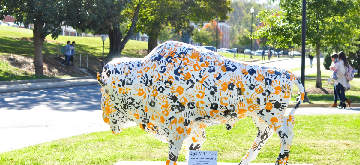 Milligan art project 'stampeding' through Johnson City to celebrate college's 150th year