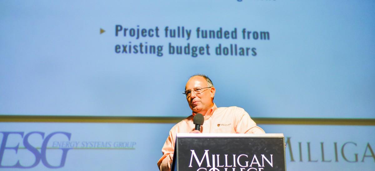 Milligan launches 'green' initiative overhauling campus infrastructure