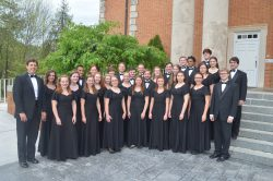 """I Lift My Eyes"" - Concert Choir Home Tour Concert @ Seeger Chapel"