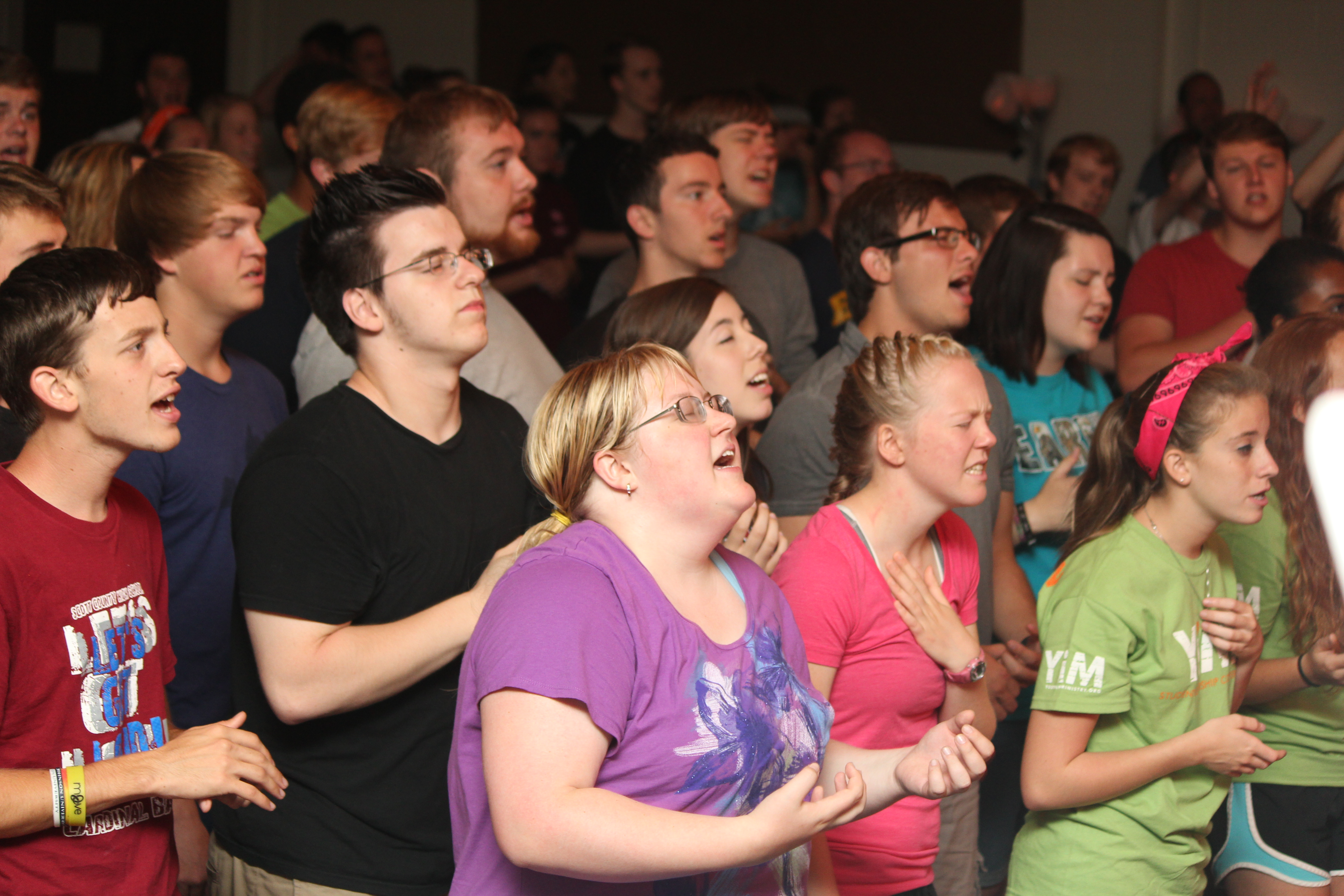 Large group worship 2
