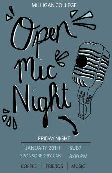 Open Mic Night 2- Jan 20 page-0