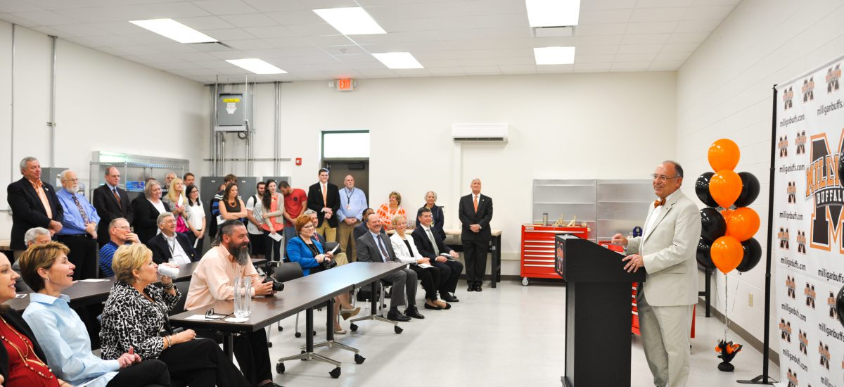 Milligan nears campaign completion with dedication of engineering facilities