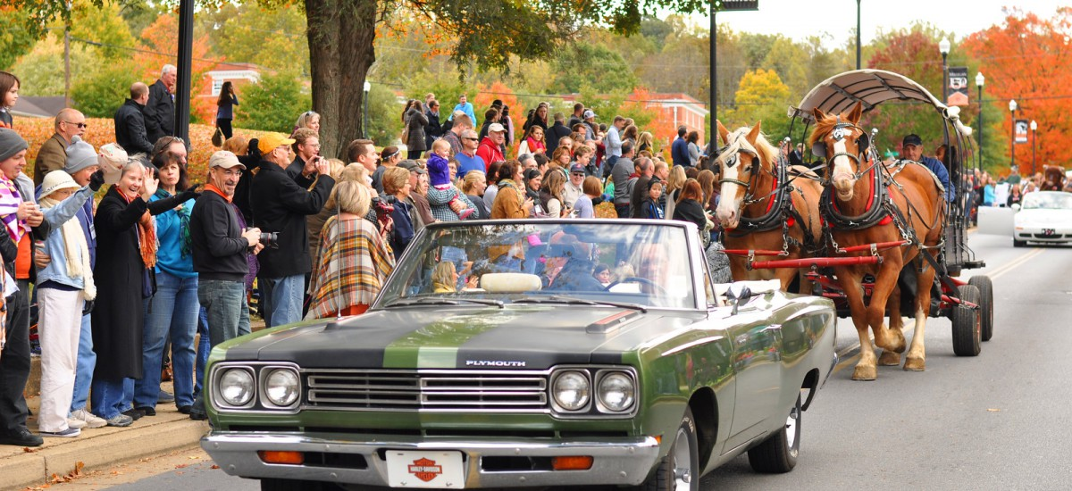 Make Milligan your destination for Homecoming, Oct. 26-27