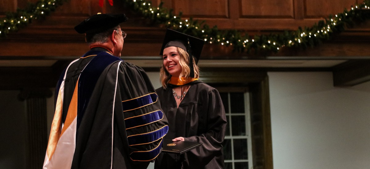 Fall commencement on Dec. 14