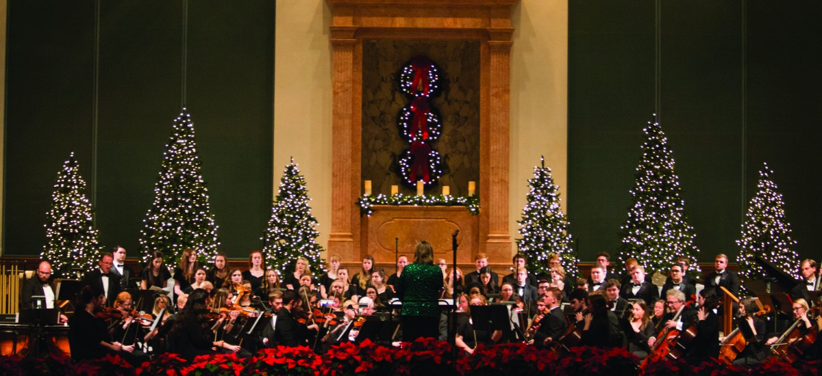 Milligan presents annual Christmas concert