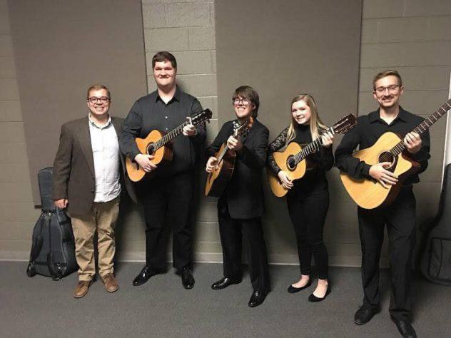 Milligan Guitar Ensemble @ George O. Walker Auditorium, Seeger Chapel