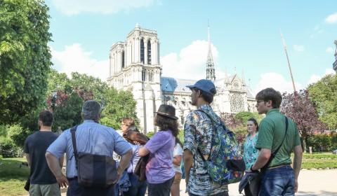 Notre Dame 2018 tour