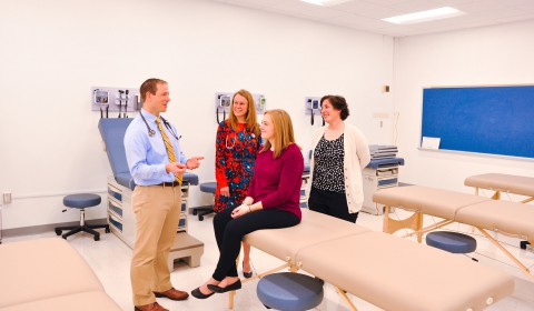 Physician Assistant classroom