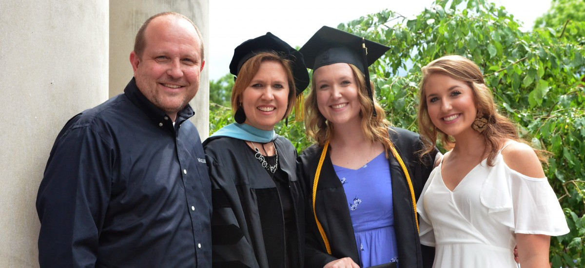 Milligan commencement is a family affair