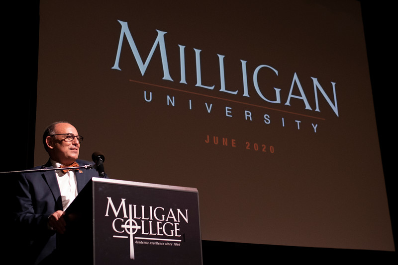 Milligan College to become Milligan University in 2020