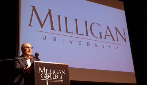 President Greer announces Milligan university