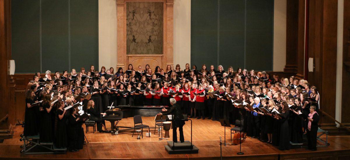 Milligan, ETSU host 'Men in Song' and 'Women in Song'