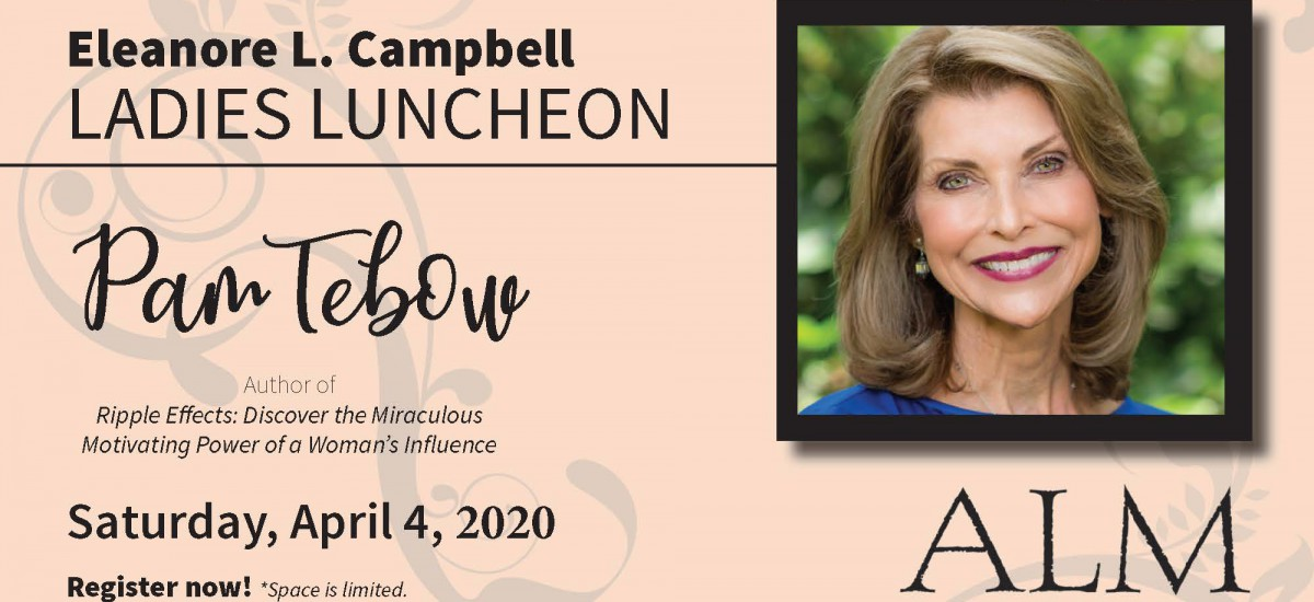 Pam Tebow to speak at Milligan Ladies Conference