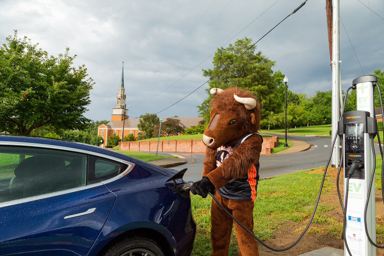 Milligan Offers Electric Vehicle Charging Station Milligan,Blue Eyes Warm Chocolate Brown Hair Color