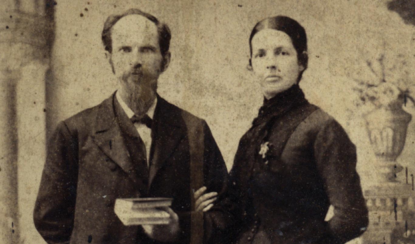 Milligan's History - Josephus and Sarah Eleanor LaRue Hopwood