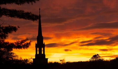 Seeger Chapel sunset 21