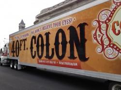 "The Colossal Colon®/""Crawl the Colon"" is a project of The Colon Club."